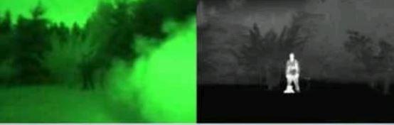 Visión térmica vs visión nocturna