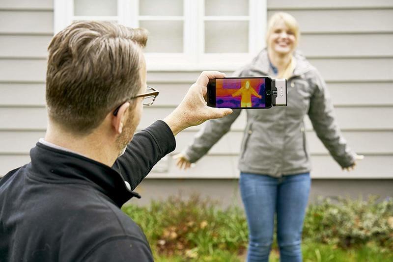 camara termografica android